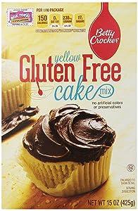 Betty Crocker Yellow Cake Mix, Gluten Free, 15 oz