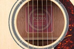 image - Yamaha FG700S Acoustic Guitar