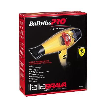 BaByliss Pro Italia brava secador de pelo