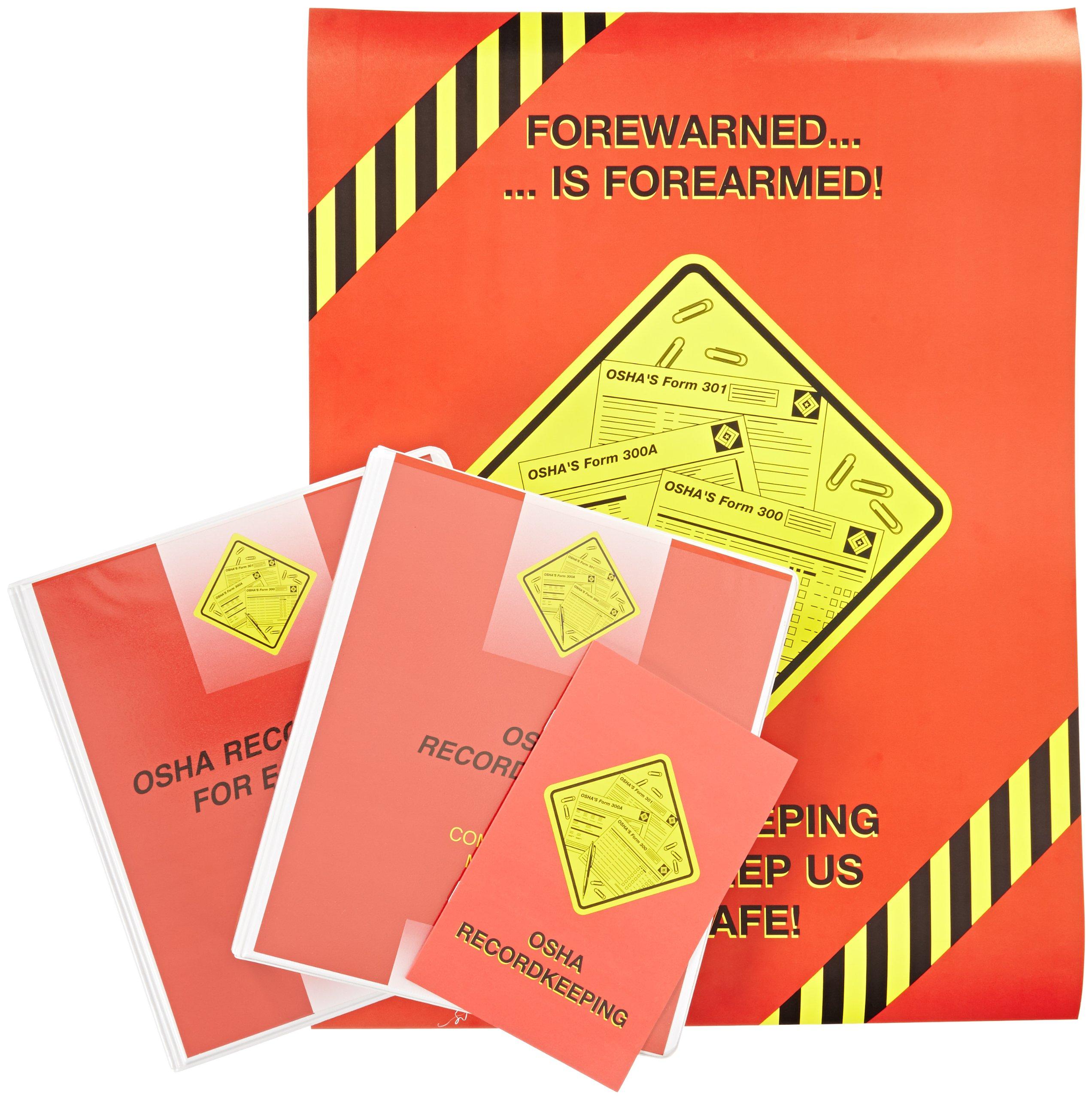 MARCOM OSHA Recordkeeping for Employees DVD Training Kit