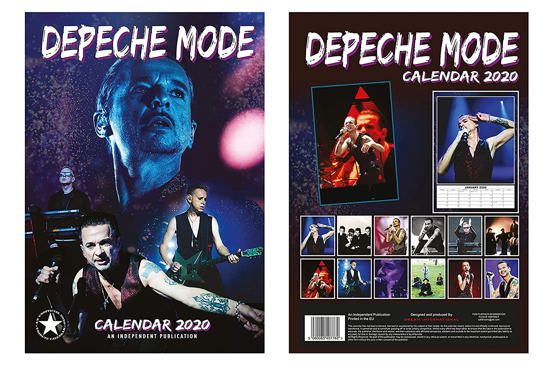 Depeche Mode Calendario 2020 + modo de depósito imán para ...