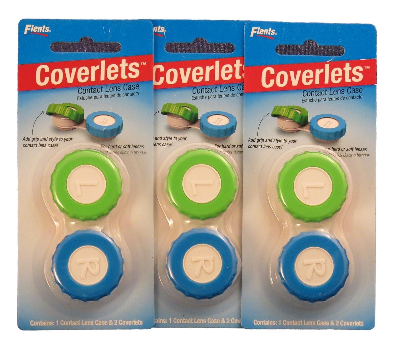 Amazon.com: Coverlets - Contact Lens Cases - 3 Pak: Health ...