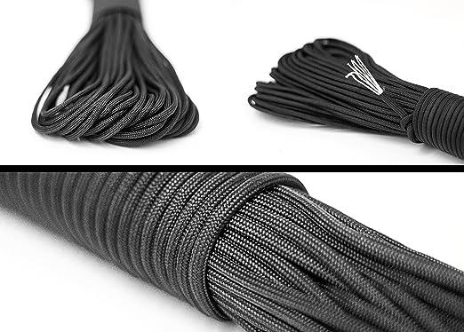 36 opinioni per Paracord di sopravvivenza della corda corda fatta di un forte cordone paracadute