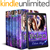 Talonian Warriors: A Sci-Fi Alien Weredragon Romance Collection (Books 1-5)