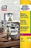 AVERY/Zweckform étiquettes résistantes aux intempéries Contenu: 20 étiquettes sans bord, 210 x 297 mm