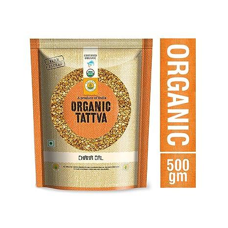 Organic Tattva Chana Dal, 500g