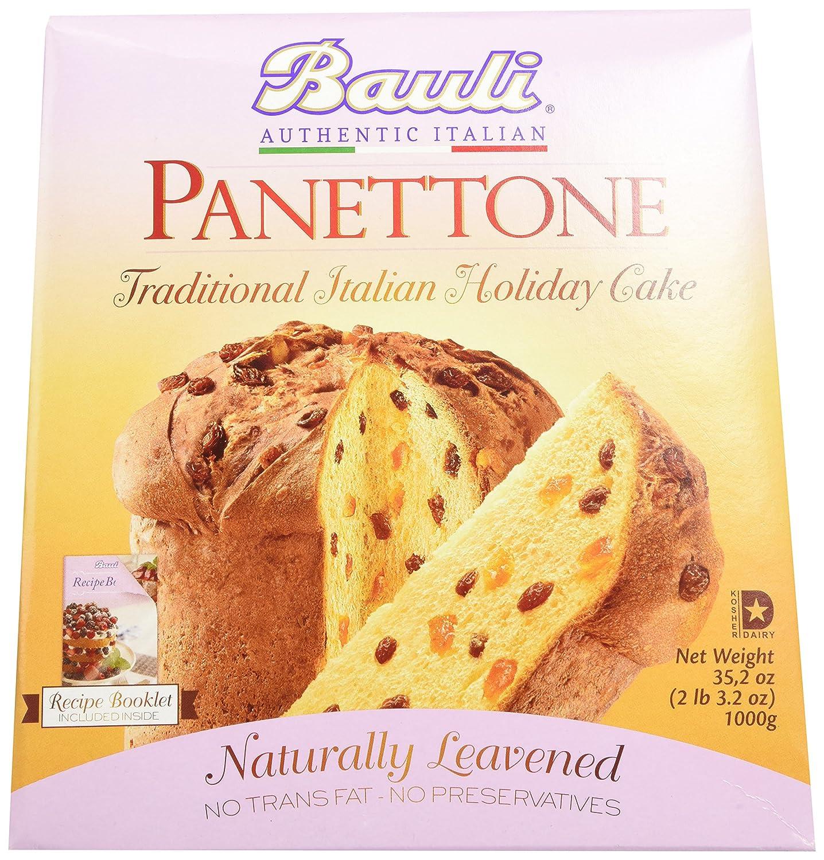 Amazoncom Bauli Panettone Italian Cake 352 Ounce Box Gourmet