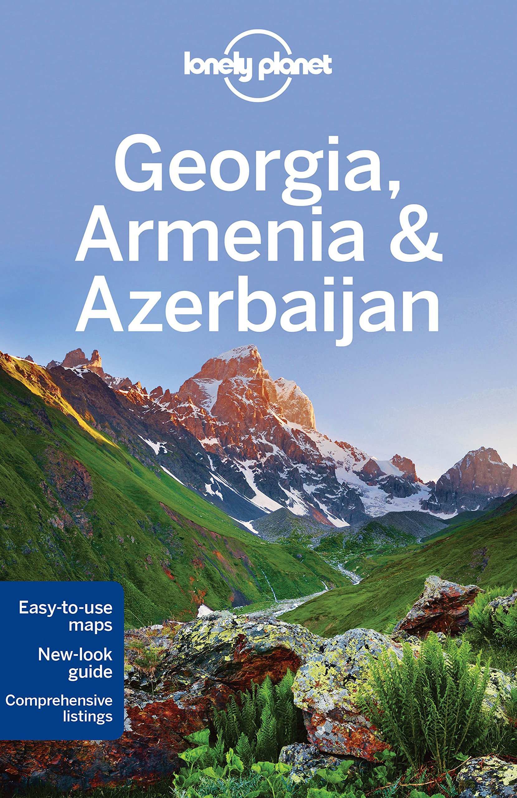 Lonely Planet Georgia Armenia Azerbaijan Travel Guide Lonely - Georgia map lonely planet