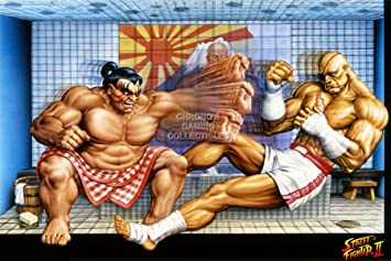 Amazon.com: CGC enorme cartel – Street Fighter II Super ...
