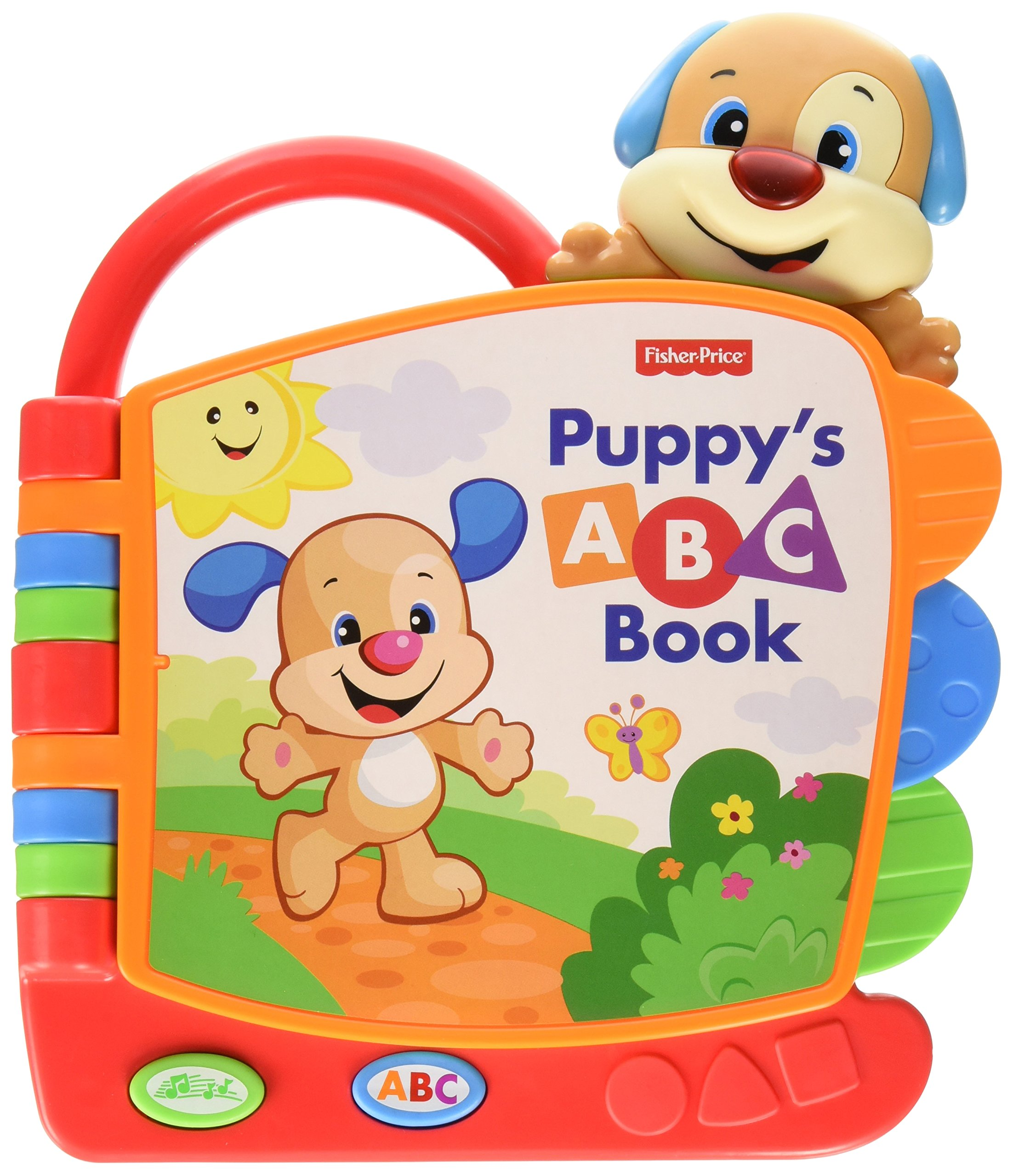 Fisher-Price Laugh & Learn Puppy's ABC Book