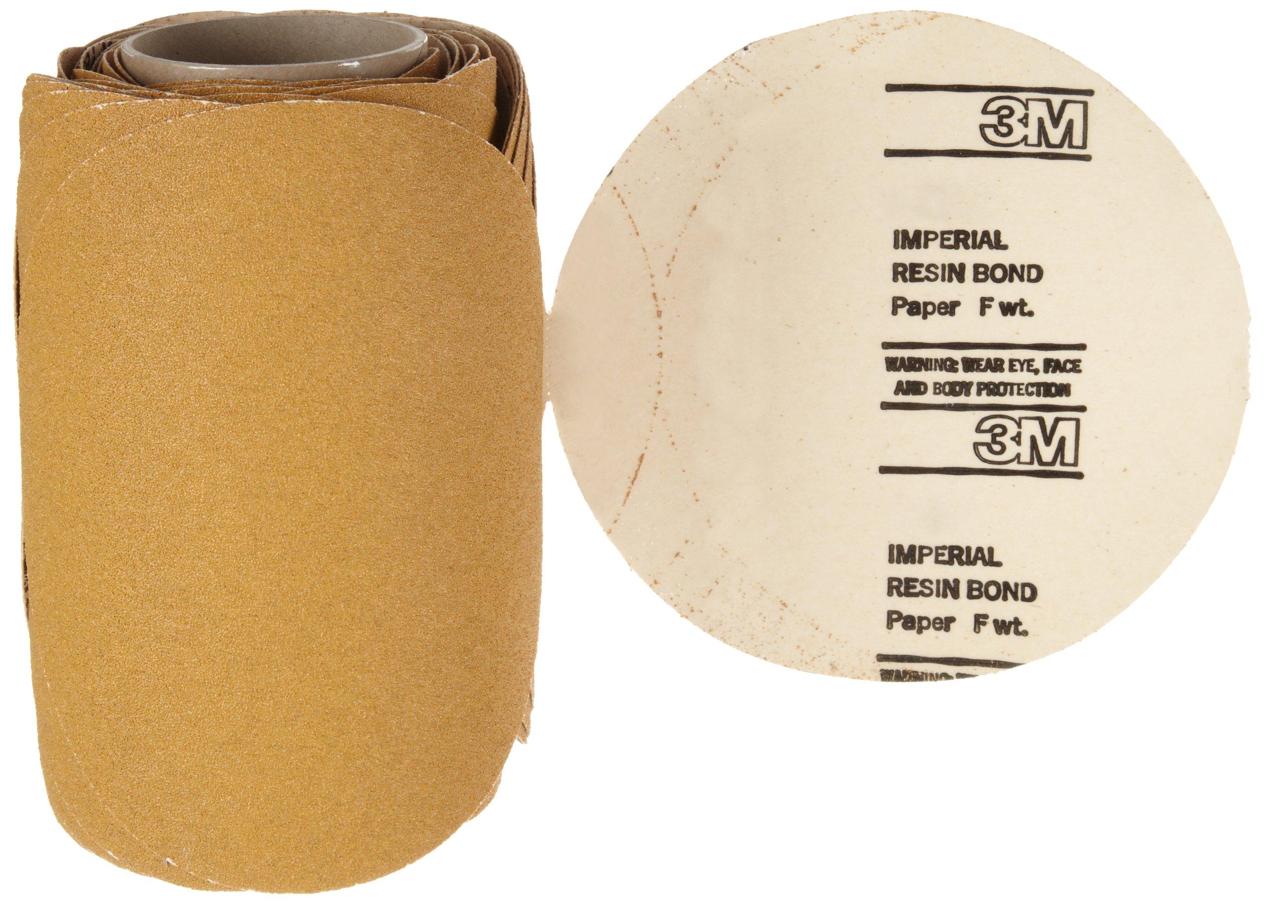 3M Stikit Paper Disc Roll 363I, PSA Attachment, Aluminum Oxide, 8'' Diameter, 60 Grit (Roll of 50)