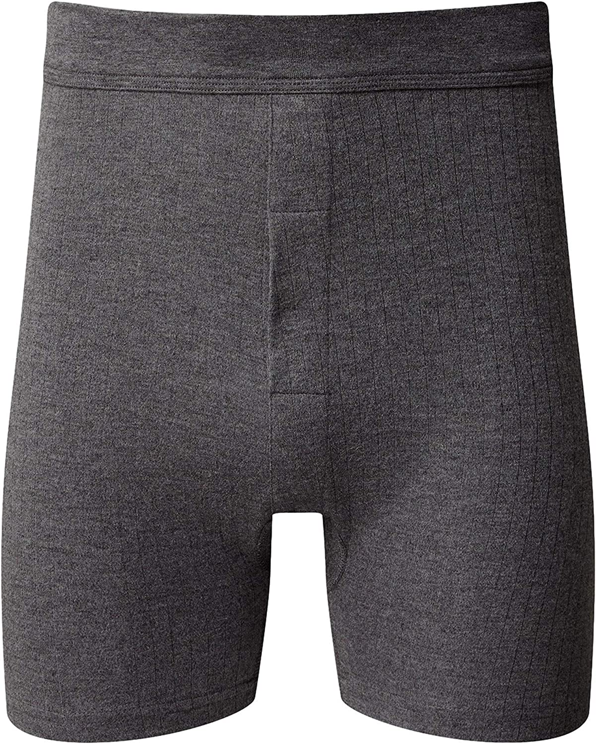 Charcoal Vedoneire Mens Thermal Trunks