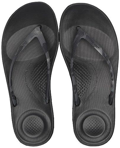 6fb67d7e2ec0 Fitflop Women s Iqushion Tortoiseshell Beach   Pool Shoes  Amazon.co ...