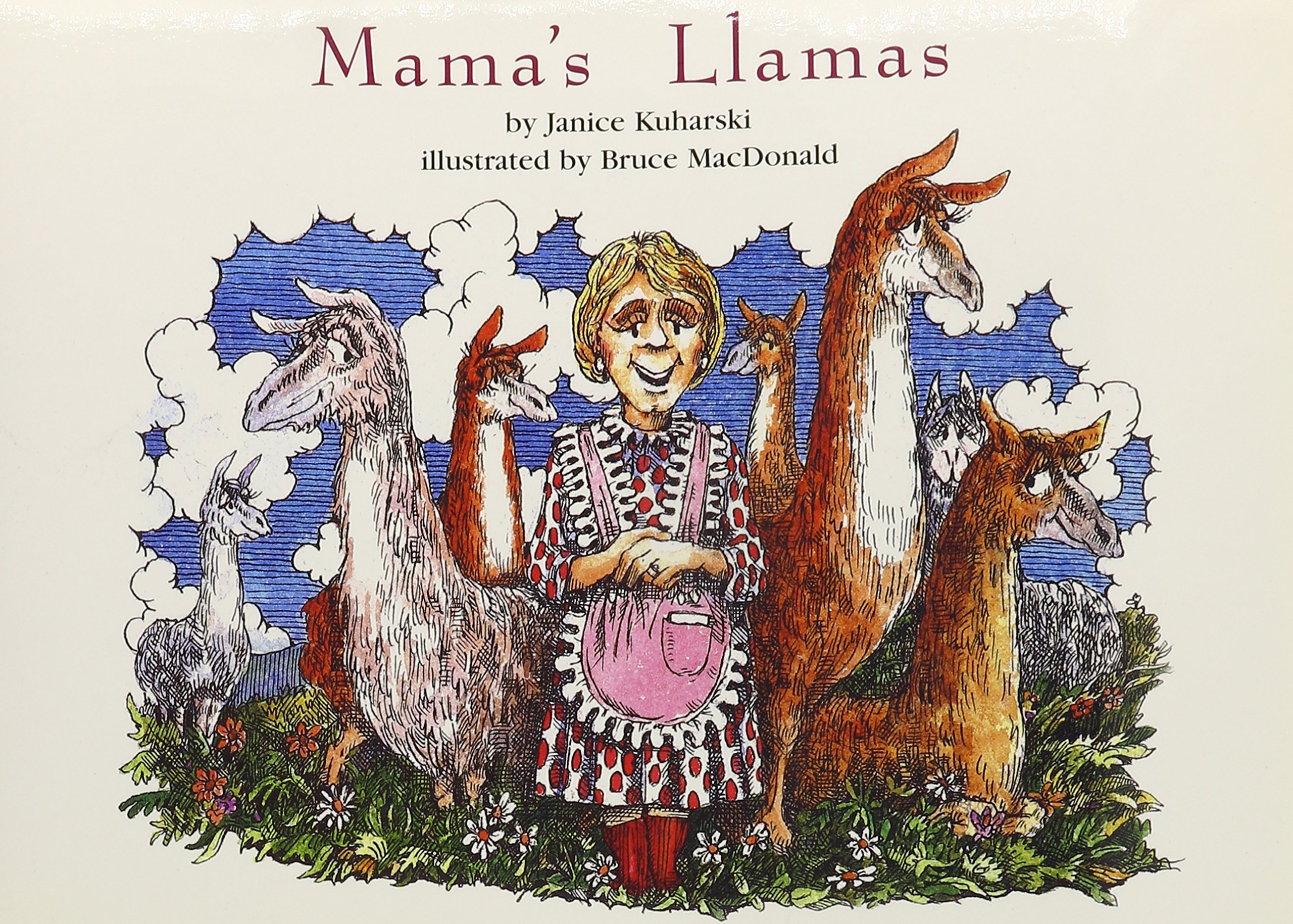 Mama's Llamas (Books for Young Learners)