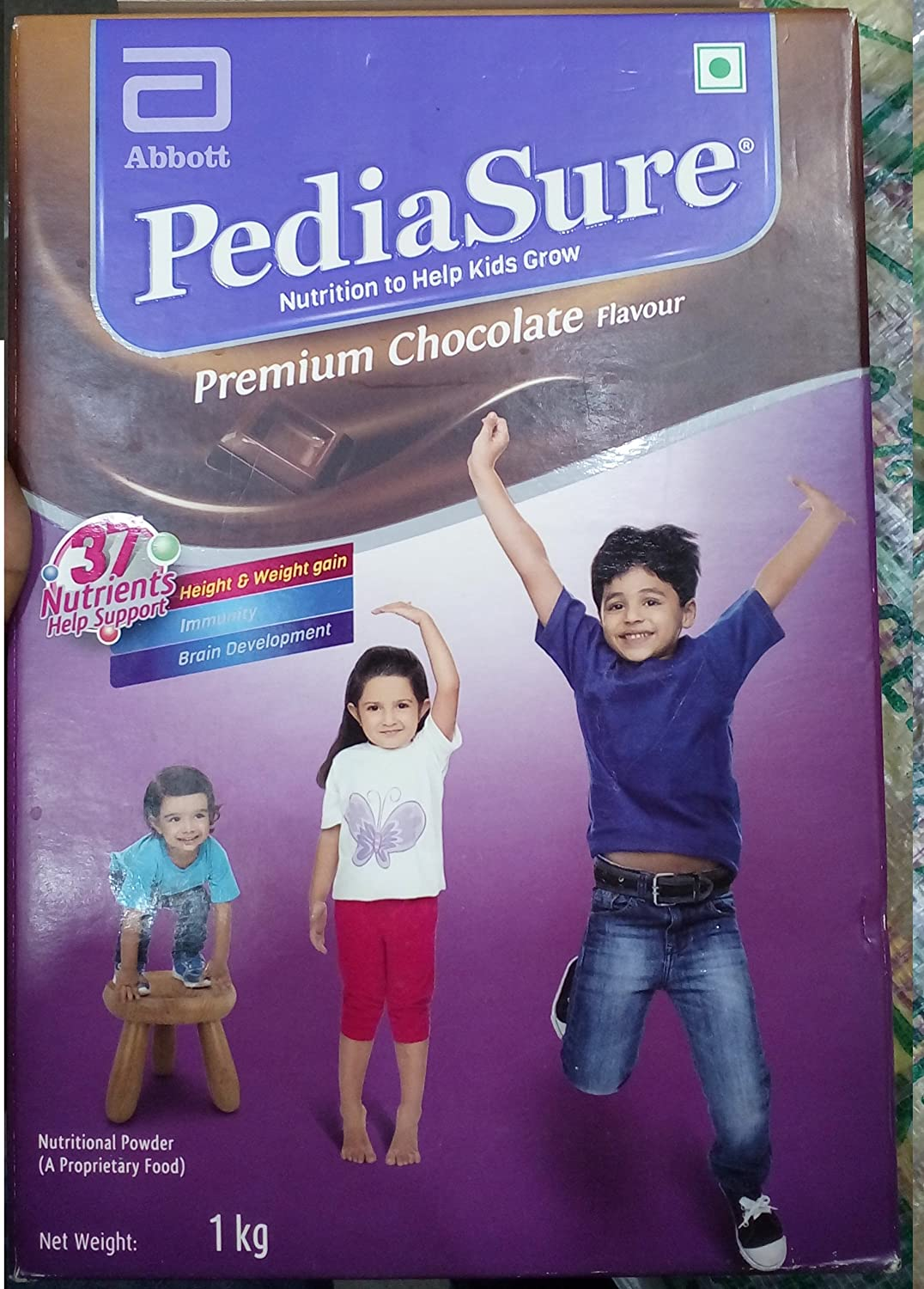 PediaSure Premium Chocolate 1Kg/35.2Oz - Case - for Kids 2 years to 10 years
