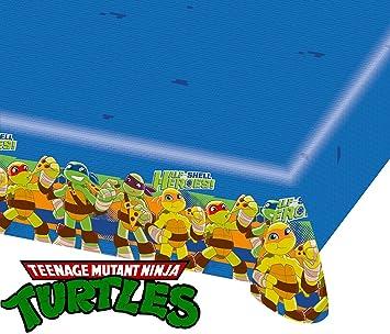 Generique - Mantel de plástico Tortugas Ninja 120x180 cm ...