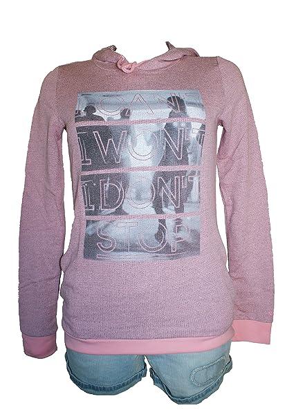 adidas - Sudadera con capucha - para mujer rosa rosa XX-Small: Amazon.es: Ropa y accesorios