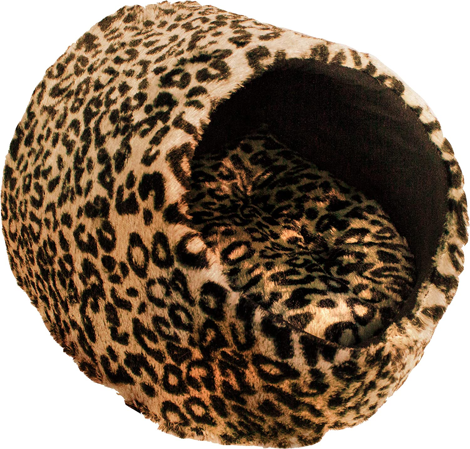 Downtown Pet Supply Cat Cave House and Kitty Bed, Extremely Cozy and Warm Mat