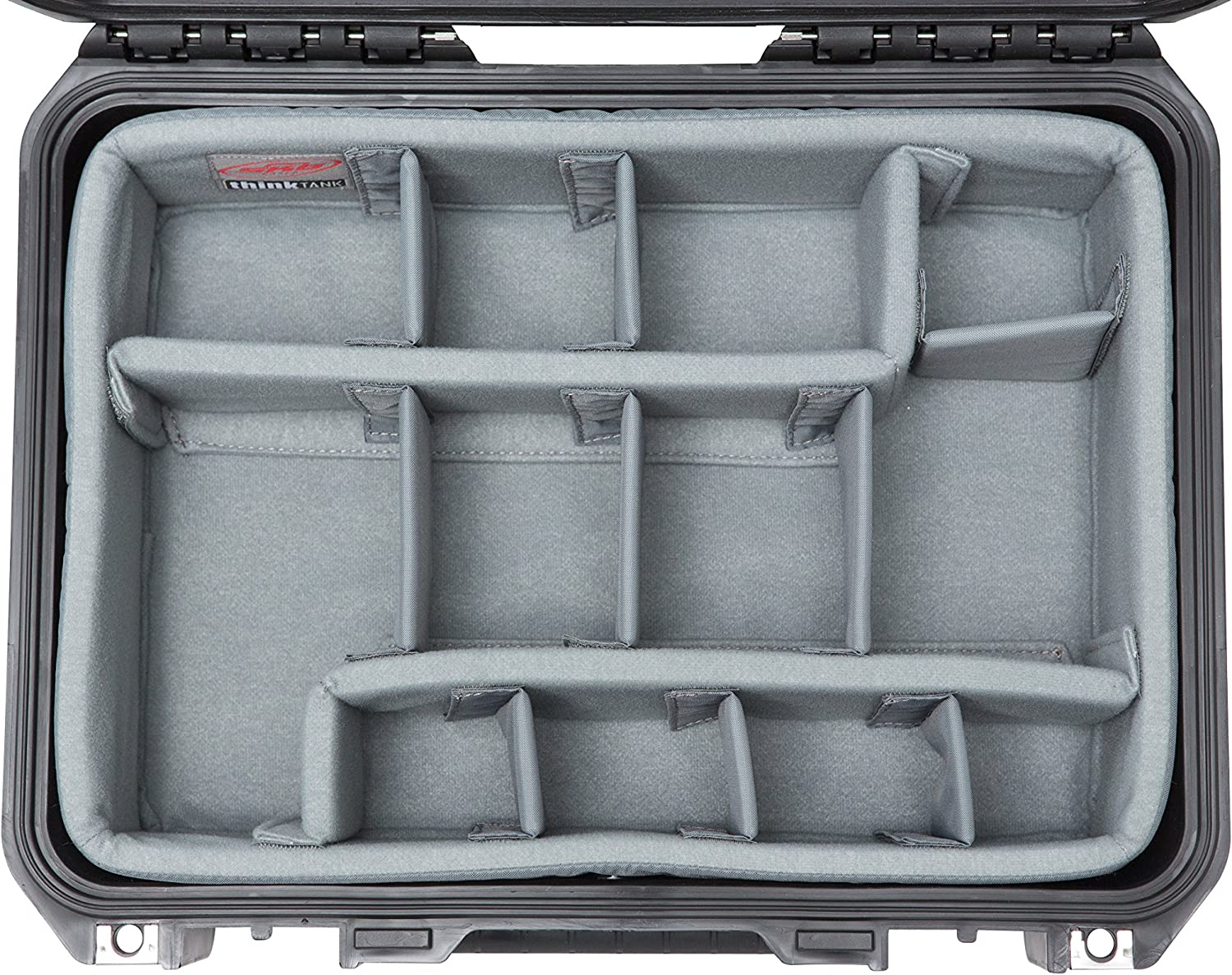 Black 3i-1510-6DL SKB Cases iSeries 1510-6 Case with Think Tank Dividers /& Lid Organizer