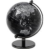 Globe Collection Mappamondo, Black, 13 cm