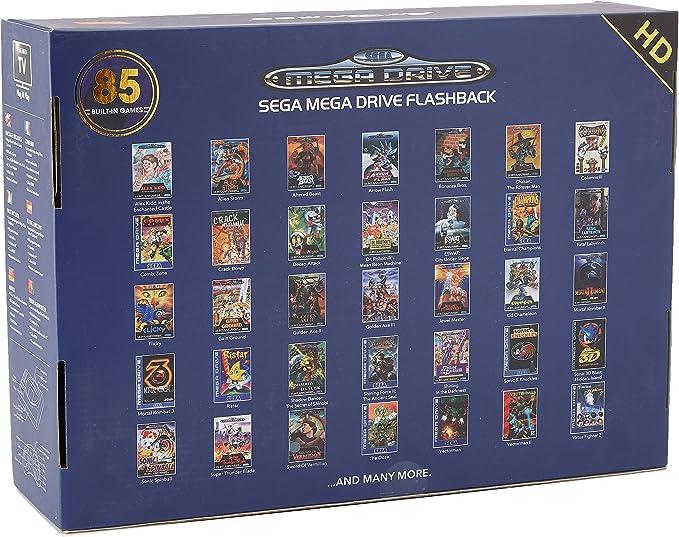 Import - Consola Retro Sega Mega Drive Wireless HD (85 Juegos): Amazon.es: Videojuegos