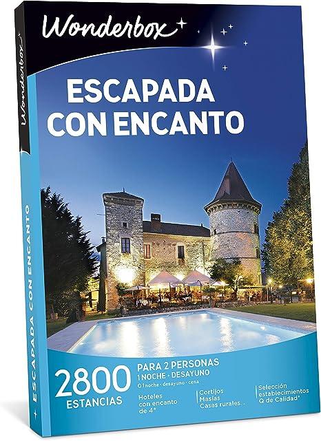 WONDERBOX Caja Regalo para Hombre -ESCAPADA con Encanto- 2.800 ...