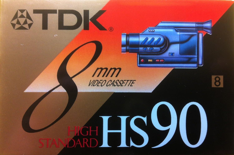TDK 8mm HS 90 Blank Tape