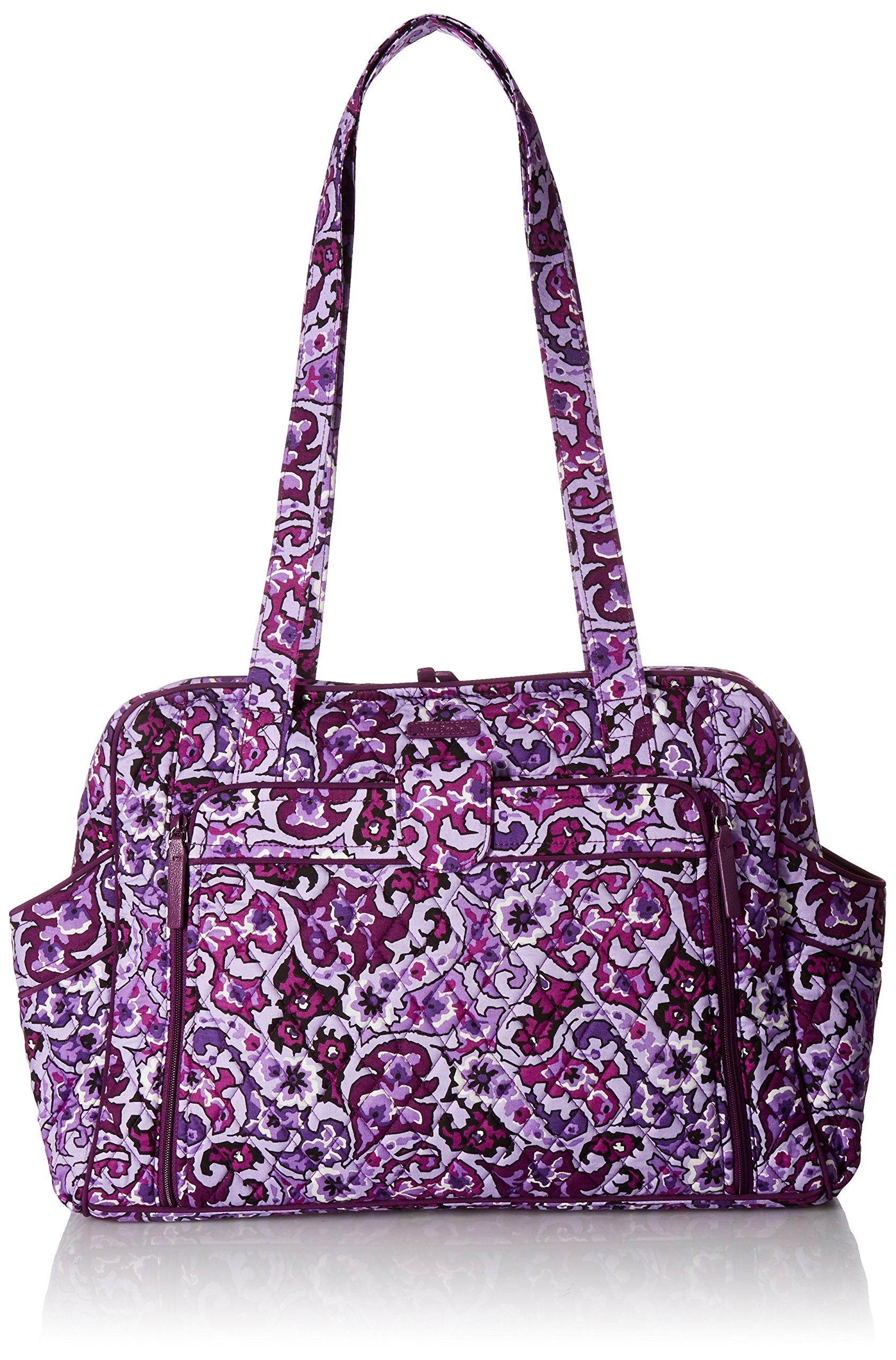 Vera Bradley Women's Stroll Around Baby Bag, Lilac Paisley by Vera Bradley