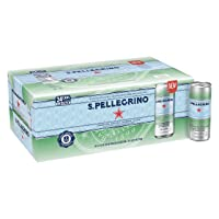 Deals on 24 Pack S.Pellegrino Sparkling Natural Mineral Water 11.15 Fl Oz Cans