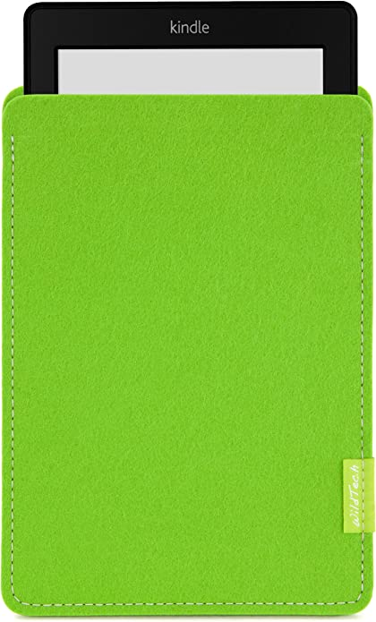 Wildtech Sleeve Für Kindle Paperwhite 17 Farben Handmade In Germany Maigrün Kindle Shop