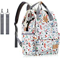 Baby Diaper Bag,UCANDO Large Capacity Multi-Function Mom Tote Diaper Bag Backpack for Boys and Girls with Shoulder Strap,Insulated Pockets & Stroller Straps