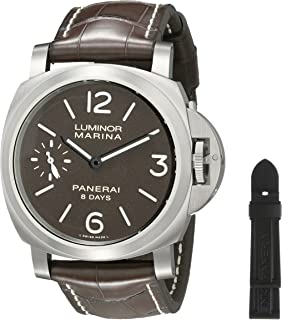 Jewelry & Watches Reasonable Officine Panerai Pam00104 Luminor Marina Watch Box Full Set Tool Books Cards Etc Boxes, Cases & Watch Winders