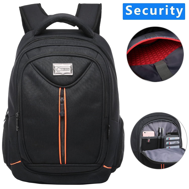 9660021d218e Crosslandy Laptop Backpack for Men Women Work Backpacks Fit 15.6 ...
