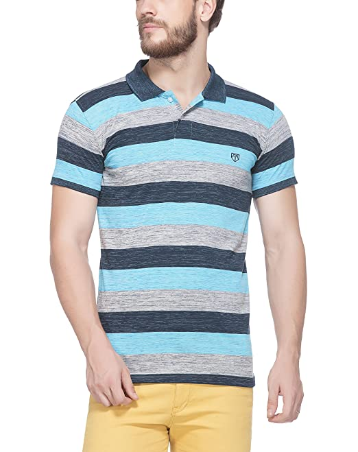 bbdf9bb9208 Tinted Men's Cotton Polo T-Shirt: Amazon.in: Clothing & Accessories