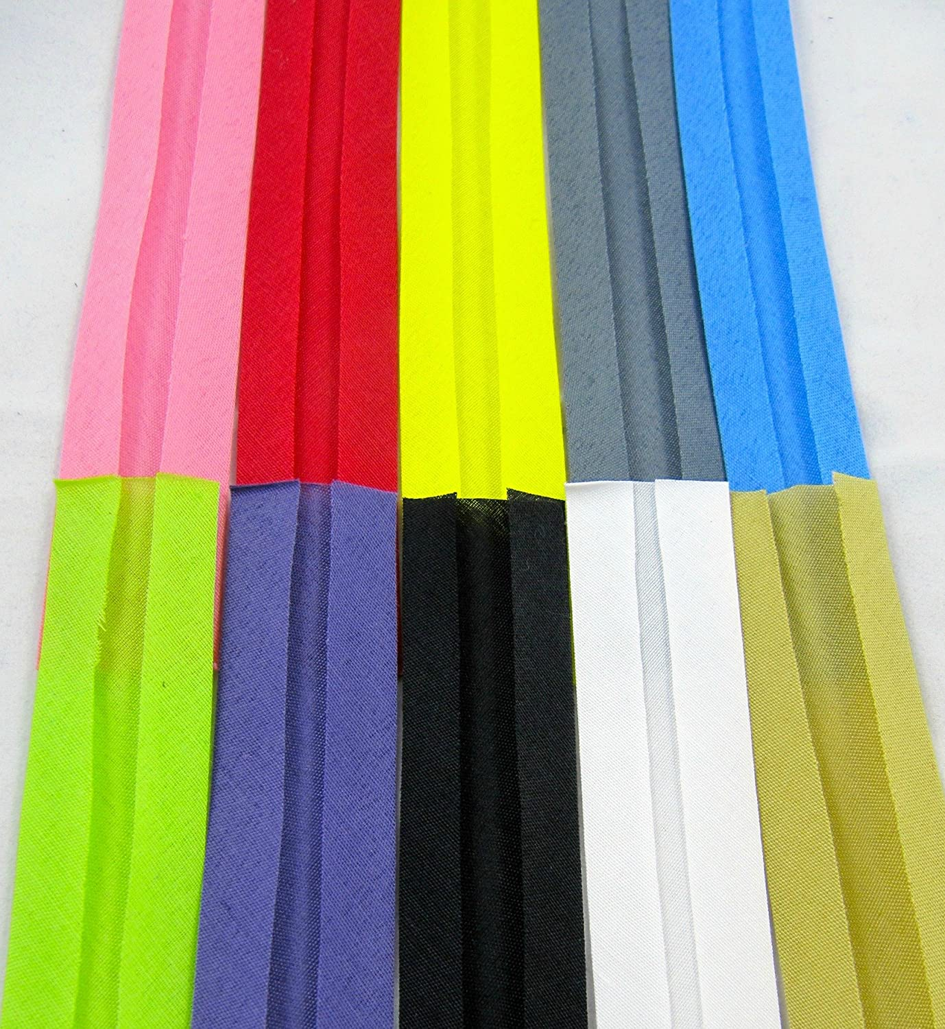 BIAS  COTTON BINDING TAPE 20mm VARIOUS CHOICE OF  COLOURS