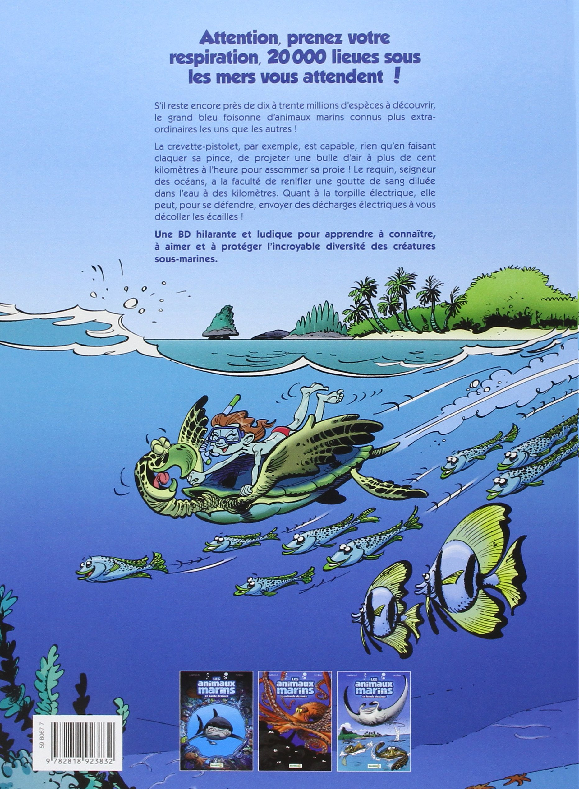 Préférence Amazon.fr - Les animaux marins en BD - tome 1 - Jytéry, Alexandre  FH59