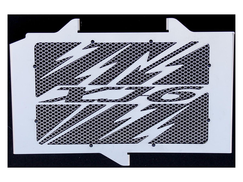 grillage anti gravillon couleur alu cache radiateur grille de radiateur inox poli Yamaha 600 XJ6 20092016 Eclair