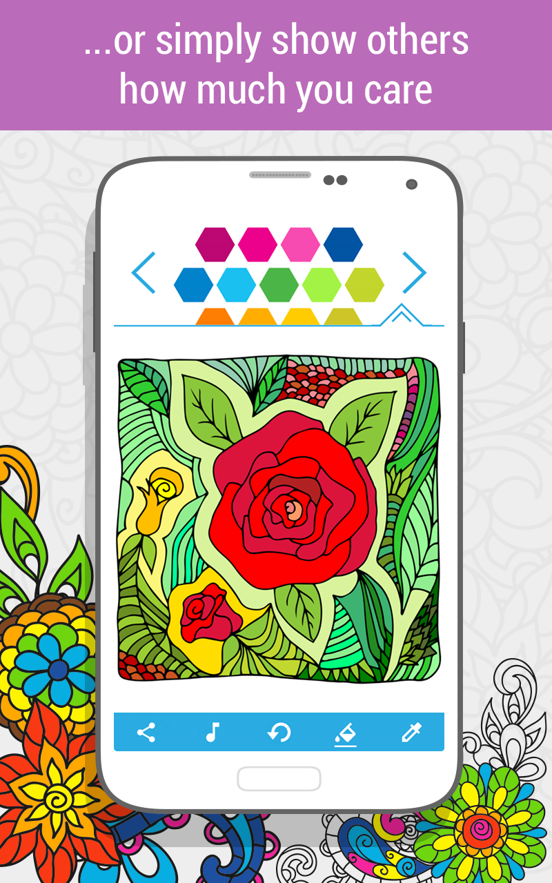 Amazon.com: Coloring Book for Adults HOLI: Appstore for Android
