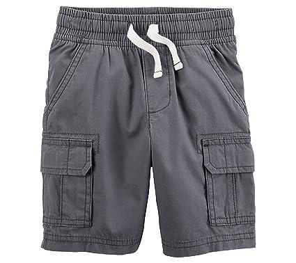 f3b7469d0 Carter's Baby Boys' Pull On Cargo Shorts - Grey -: Amazon.co.uk ...