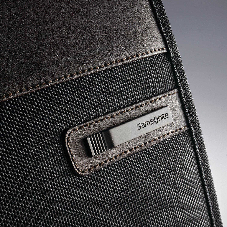Samsonite Kombi Flapover Briefcase, Black/Brown by Samsonite (Image #11)