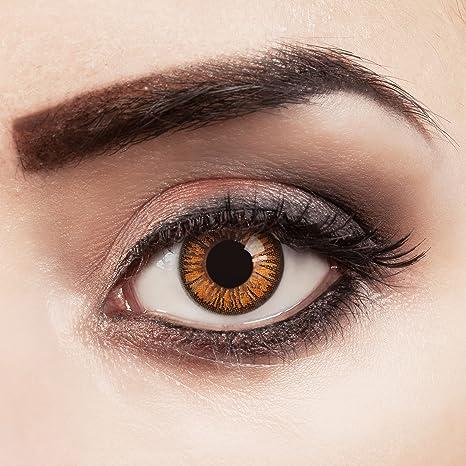 Couleur des lentilles de contact Orange Lilly de aricona – années couvrant  la lentille à terme 1e5ccccbc62a