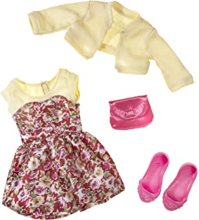 """BFC Ink 18/"""" Fashion Doll Clothes So Stylish 3 PC Set Cloth and Fabric Shoes"""