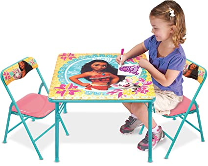 Fabulous Moana Disney Activity Table Playset Evergreenethics Interior Chair Design Evergreenethicsorg