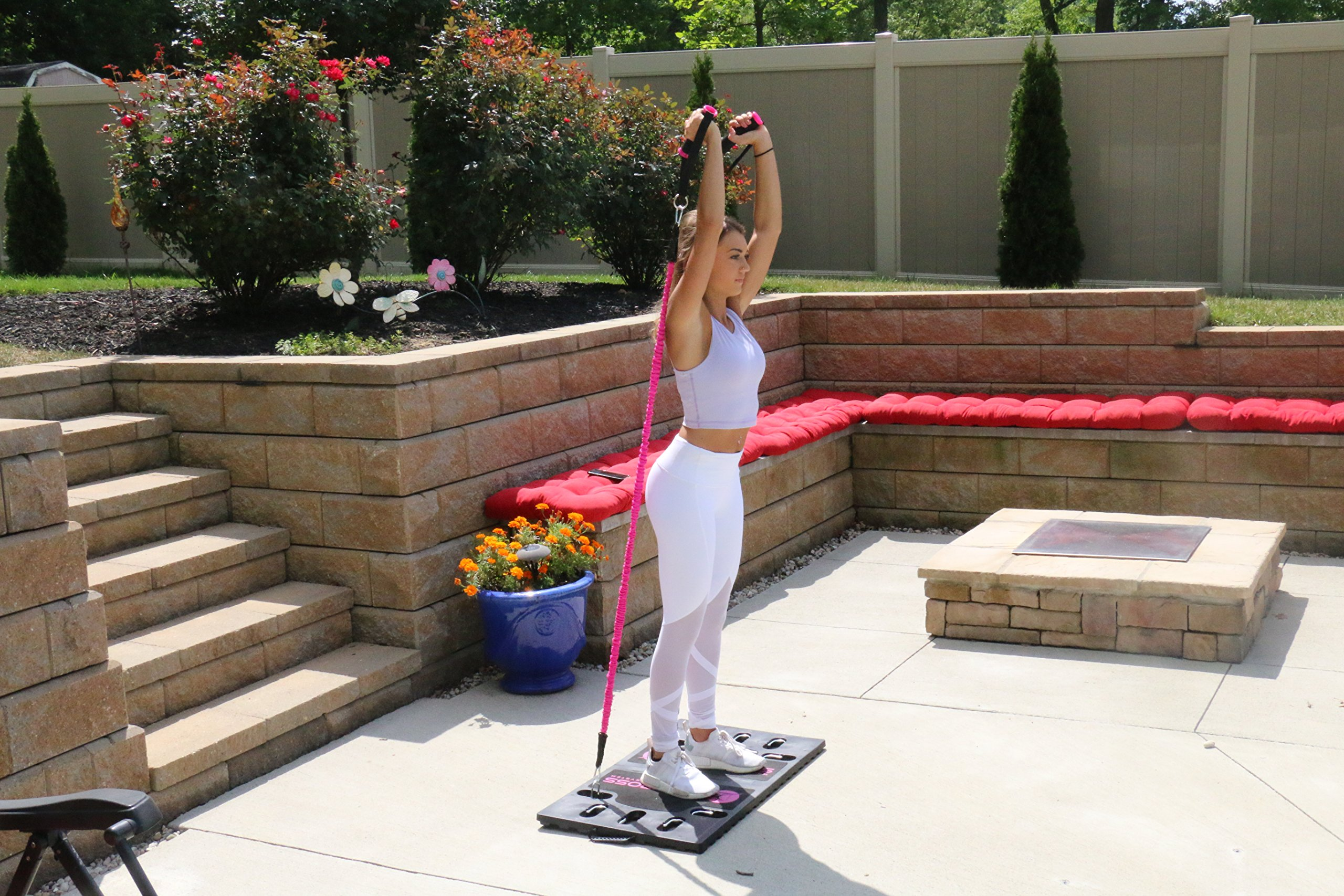 BodyBoss Home Gym 2.0 - Full Portable Gym - Full Body Workouts for Home, Travel or Anywhere You Take It. by BodyBoss (Image #3)