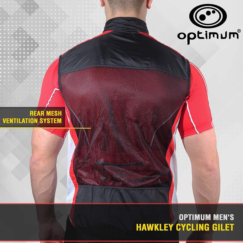 Optimum Hawkley Mens Cycling Gilet size Small