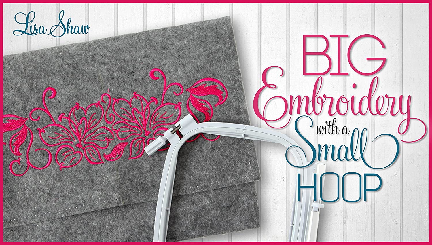 Amazon.com: Big Embroidery With a Small Hoop: with a focus ...