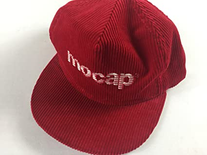 befaec9ce37 Amazon.com   Mocap Snapback Hat Vintage Corduroy Cap USA Made Farm ...
