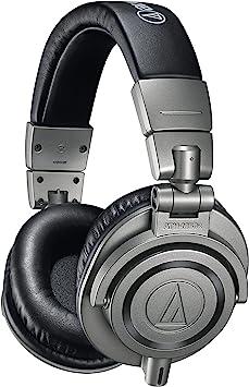 Audio-Technica ATH-M50x Professional Studio Monitor Headphones ATH-M50x Gun Metal: Amazon.com.au: Musical Instruments