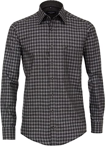 Casa Moda 483104000 Mouliné - Camisa para Hombre a Cuadros ...