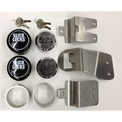 Slick Locks 4336324178 Nissan Nv Kit Complete with Spinners, Weather Covers & Locks: Home Improvement